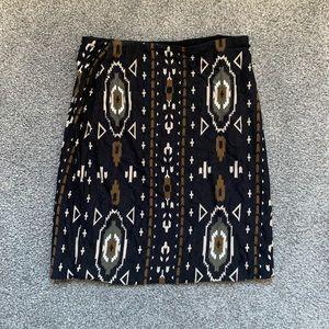 Torn by Ronny Kobo Tribal Mini Skirt